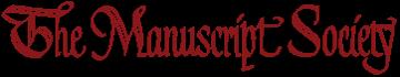 The Manuscript Society Logo