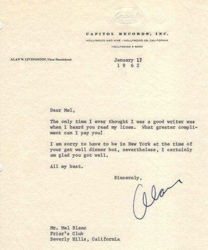 Segall Letter