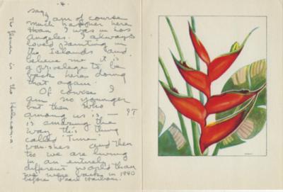 Crhistmas Card from Eskridge - Embury article