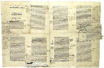 example of manuscripts - handwriting